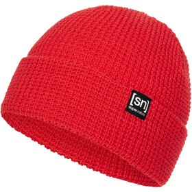 super.natural City Beanie, high risk red